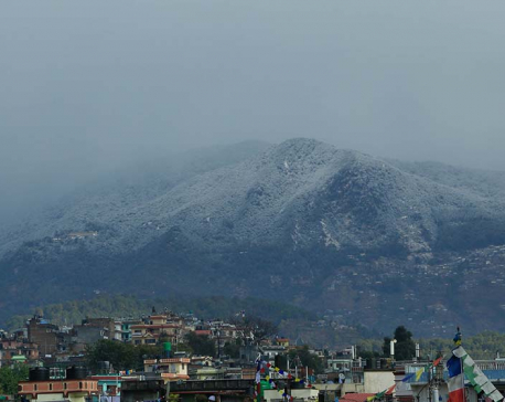 Snowfall in the hills around the Valley, weather to improve from Sunday