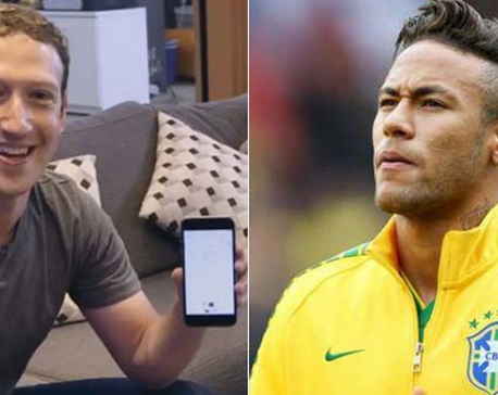 Mark Zuckerberg challenges Neymar