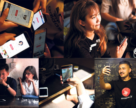 Social apps youngsters' platform for creativity and bonding