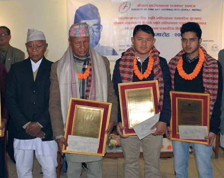 SOFAJ Nepal honors journalists