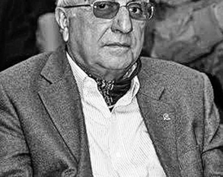 Tourism entrepreneur Tek Chandra Pokharel passes away