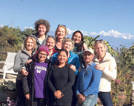 Dutch soul sisters have big dreams for Nepal