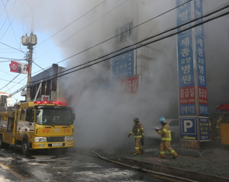 Blaze in South Korean hospital kills 31, injures more than 70