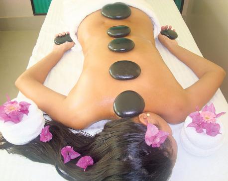 Spa Healing through the art of touching
