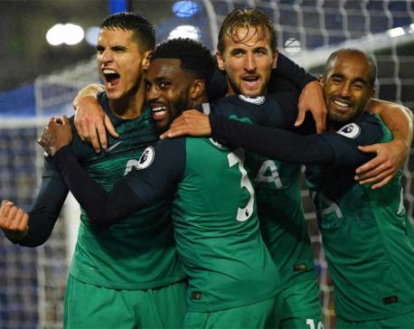 Kane scores as Tottenham return to winning ways