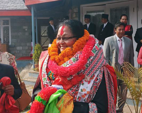 Srijana Sharma elected as deputy speaker of Province-4