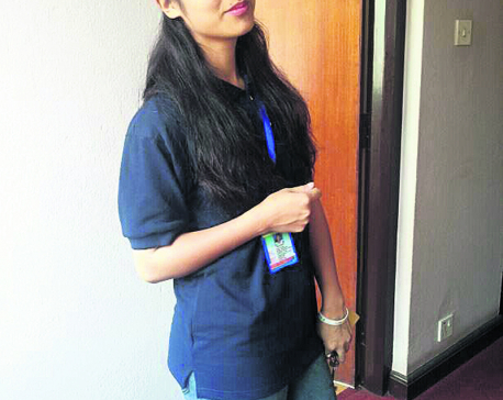 Young vice chairperson committed to her pledges