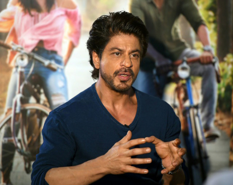 Shah Rukh Khan dreams of global Bollywood hit