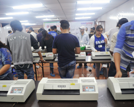 Printing of voter identity cards at final stage