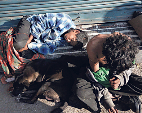 28 street children rescued from capital