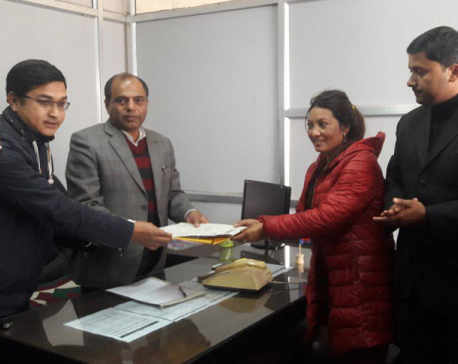 Student unions submit memorandum to PM Dahal