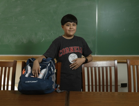 University welcomes 12-year-old college freshman