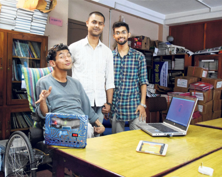 Students design software to read brain waves