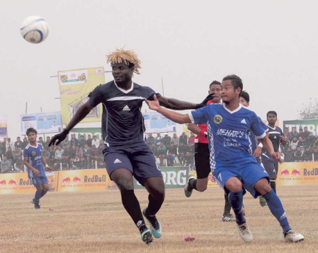 Host Dharan succumbs to sudden-death defeat