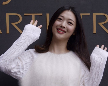 South Korean pop star Sulli found dead at her home