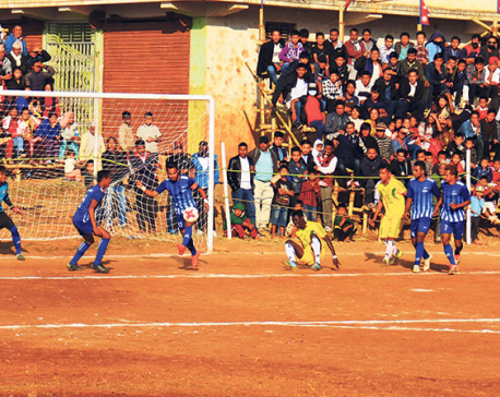 Sunsari stuns Boys Union in Falgunanda Gold Cup