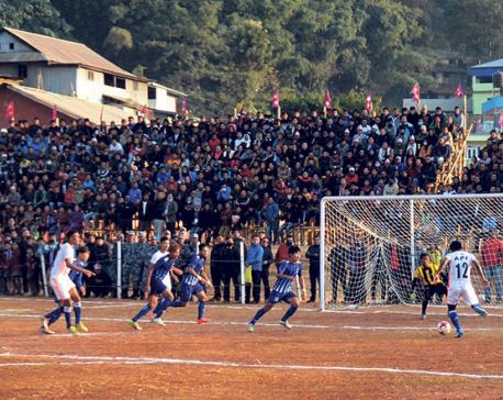 Sunsari stuns APF to reach Falgunanda Cup semis