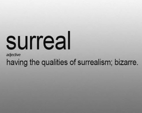 'Surreal' declared Merriam-Webster's 2016 word of the year