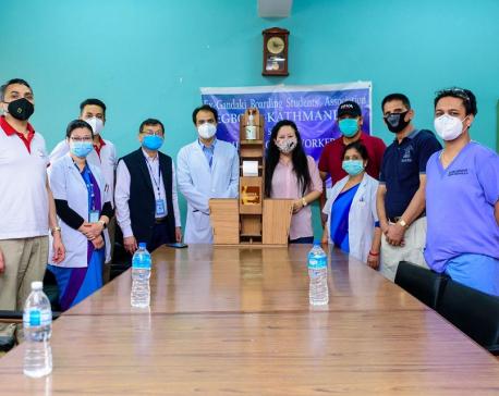 EGBOSA provides medical supplies to Bir Hospital, Trauma Center