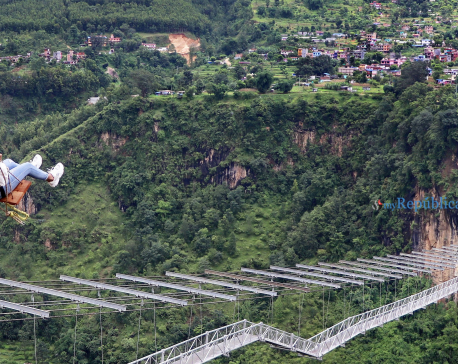 World's highest bungee and swing from bridge come into operation