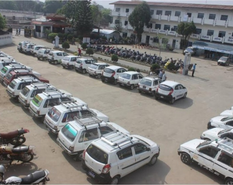 Over 350 cabs taken under control as they stage protest against lockdown