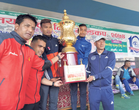 TAC, MMC once again battling for title in Jhapa