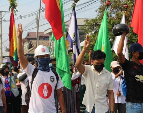 Myanmar security forces fire on protesting medical workers, some hurt: media