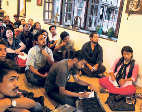 Talk session on Asian art