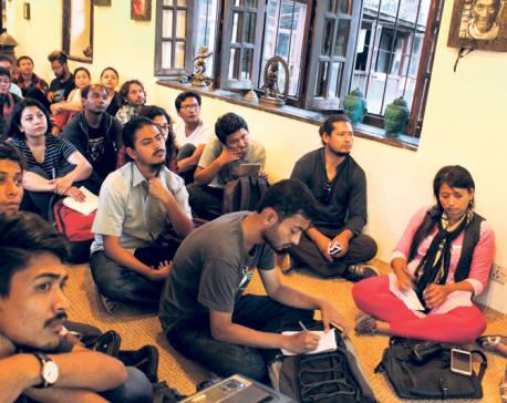 Talk session on Asian art