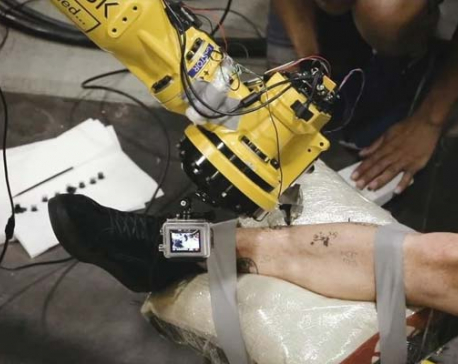 Looking to get inked? This tattoo making robot can help