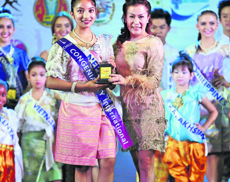 Team Nepal Victorious At Prince and Princess International 2017