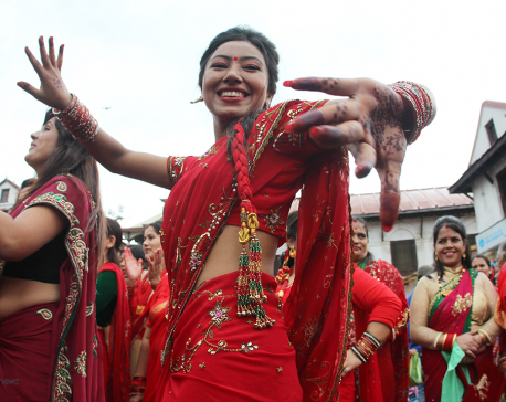 Teej celebrations more systematic at Pashupati this year: PADT