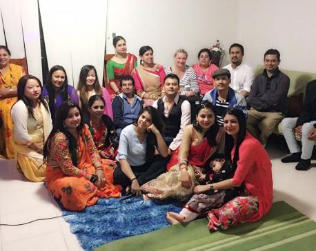 Teej celebrated in Australia