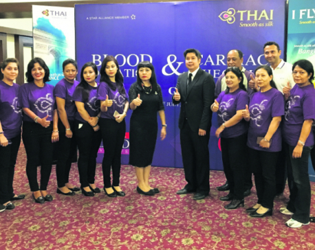 Thai Airways International organizes blood donation