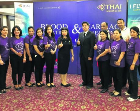 Thai Airways International organizes blood donation