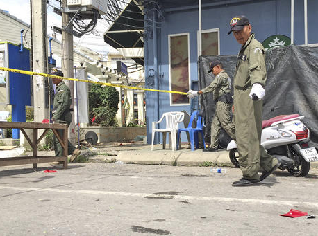 Thai police say wave of blasts not linked to terrorism
