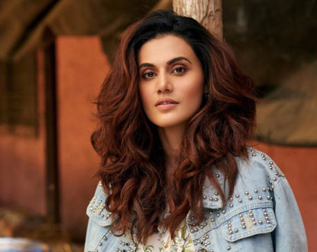 Taapsee shuts down troll targeting her for casting vote in Delhi elections