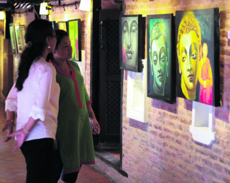 Third Art without Borders exhibition on display