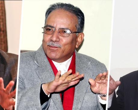 A day after parliament reinstatement, NCP Chairpersons Dahal, Nepal hold meeting with NC President Deuba