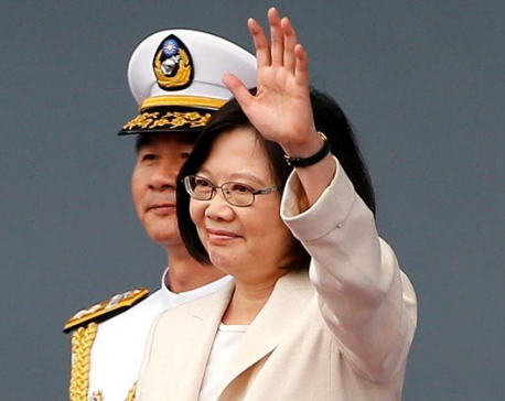 Taiwan president arrives in Hawaii despite Chinese objections