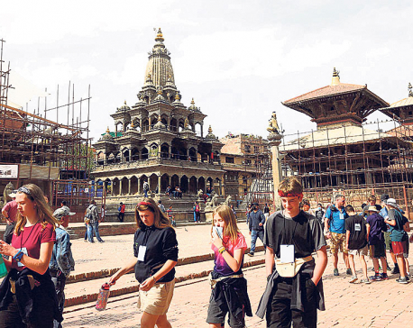 Over 22,000 tourists visited Nepal in April