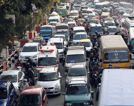 Too many vehicles, too short road