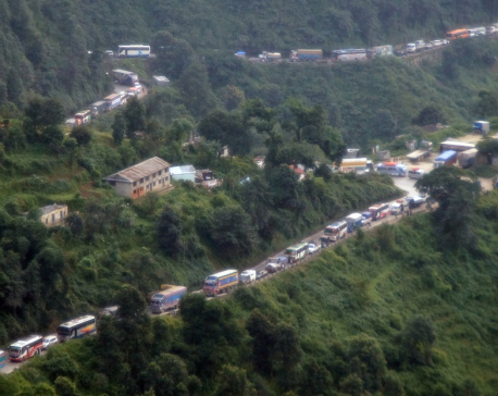 Kidney patient dies due to traffic congestion along Naubishe-Nagdhunga road section
