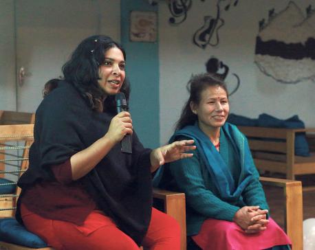 Trafficking survivors as filmmakers