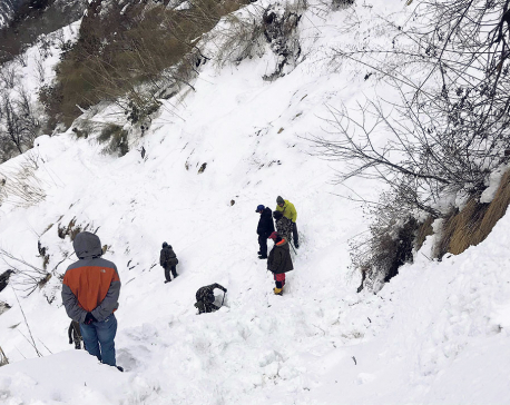 Govt suspends search and rescue operation for four SKoreans, three Nepali guides owing to bad weather