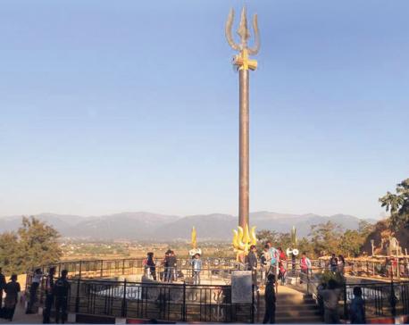 Trishul turns Dang temple into tourist spot