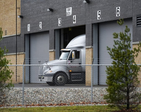 Trucks with first COVID-19 vaccine in US get ready to roll