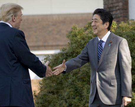 Trump calls Japan 'crucial ally' as he kicks off Asia trip