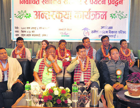 TTDC urges local representatives to restore beauty of Thamel