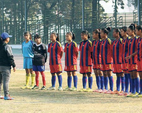 U-15 girls' football squad for SAFF finalized
